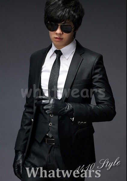 Men Stylish Slim Fit One Botton Suit (Jacket Only) Z27